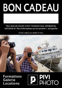 BON CADEAU Ateliers Formations Cours Photos - Pivi.be